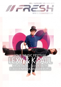26-28.06.15 : LEXY & K-PAUL @ LOVE MUSIC FESTIVAL