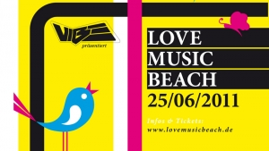 Campen beim Love Music Beach