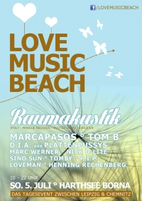 SO 05.07.15 : LOVE MUSIC BEACH @ Harthsee Neukirchen