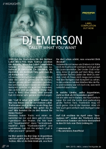 DJ EMERSON : Call it what you want