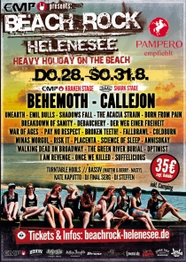 VERLOSUNG: BEACHROCK am HELENESEE vom DO 28.08.14 - SO 31.08.14