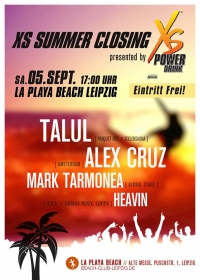 SA 05.09.15 : XS Summer Closing @ La Playa Beach Club Leipzig