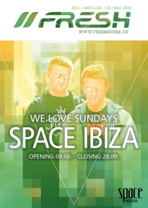 WE LOVE SUNDAYS AT SPACE IBIZA mit u.a. DISCLOSURE