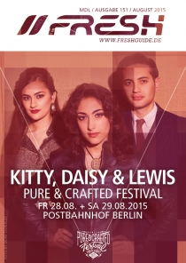 28 + 29.08.15 : Pure&Crafted Festival @ Postbahnhof Berlin