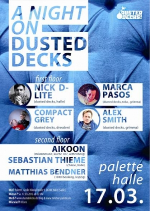 SAMSTAG 17.03.2012 // PALETTE HALLE // A NIGHT ON...