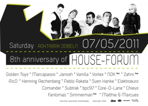 8th anniversary of House-Forum