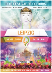 SA 13.06.15 : Holi Festival of Colours @ Alte Messe Leipzig
