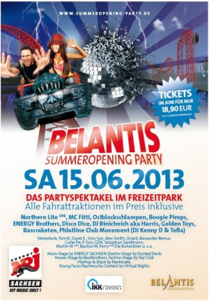 SAMSTAG 15.06.2013 // BELANTIS LEIPZIG // SummerOpening Party