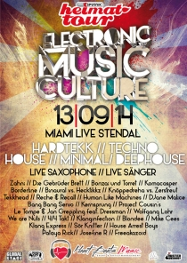 SA 13.09.14 // MIAMI LIVE STENDAL // Electronic Music Culture