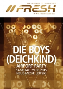 SA 29.08.15 : AIRPORT PARTY @ NEUE MESSE LEIPZIG