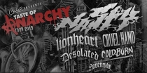 FR 13.03.15 : TASTE OF ANARCHY @ CONNE ISLAND Leipzig