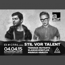 SA 04.04.15 : STIL VOR TALENT im ELI in Leipzig