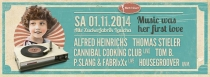 SA 01.11.14 : Music was her first love | Alte Zuckerfabrik Laucha |