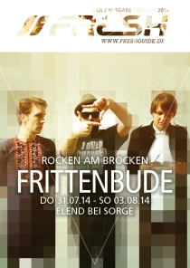 ROCKEN AM BROCKEN mit FRITTENBUDE // ELEND BEI SORGE // DO 31.07.14 - SO 03.08.14