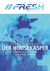 SO 03.07.16 : LOVE MUSIC BEACH @ Harthsee Neukirchen bei Borna