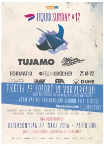 Liquid Sunday 12 am OSTERSONNTAG : 27.03.16 @ ALWO Altenburg